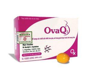 chữa kinh nguyệt không đều bằng ovaq1 để có con